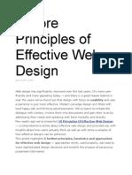 5 More Principles of Effective Web Design (2008)