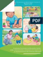 Cómo aprenden los niños Programa Curricular de Educación Inicial 16-21