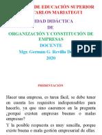 DIAPOSITIVAS 2020 ORG Y CONST