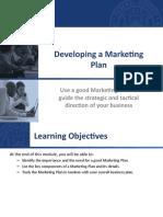 Lesson 4 Marketing Plan Importance