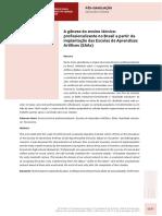 A gênese do ensino técnico-profissionalizante no Brasil a partir da implantação das Escolas de Aprendizes Artífices (EAAs)