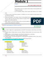 Finite element analysis notes