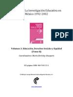 EDUCACION, DERECHOS SOCIALES Y EQUIDAD TOMO II