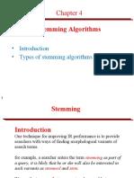 Stemming AlgorithmsCh2