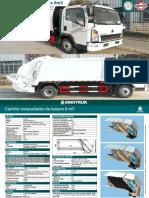 compactador de basura 8m3