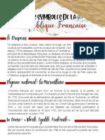 LES SYMBOLES DE LA REPUBLIQUE FRANCAISE
