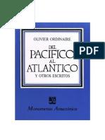 Del Pacifico al Atlantico