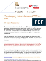 IG Index the Changing Balance Between FTSE and DAX