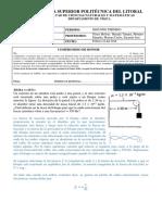 Física 2 Tercer Examen II Término 2017 (Solución) Escuela Superior Politécnica del Litoral