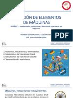 1.  CLASE INTRODUCCIÓN MAQUINAS Y MECANISMOS
