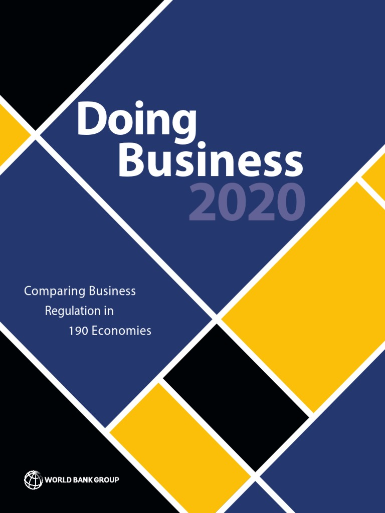 Doing Business 20   With Contributors PDF   PDF   Poverty ...