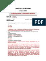 Evaluación Final - 201920