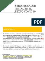 REGISTRO HIS SANLUD MENTAL EN EL CONTEXTO COVID