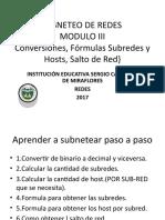 SUBNETEO DE REDES3