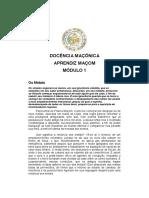 Docência Maçónica - Aprendiz Maçom.pdf