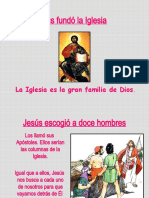 Jesús funda la Iglesia