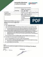 verklaring akkoord isa goossens 1708786 alternatieve assessmentprocedure