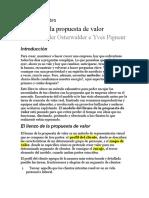 Resumen del libro_Diseñando la propuesta de valor