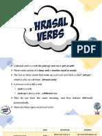 B1 - Phrasal Verbs - Up, On, Off
