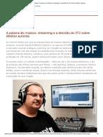 STJ - Notícias_ A palavra do músico_ streaming e a decisão do STJ sobre direitos autorais