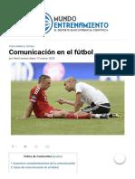 Comunicación en el fútbol _ Revista Mundo Entrenamiento