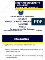 Week 2-Introduction to Database Access