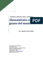 Abonamiento Con Guano Del Monte