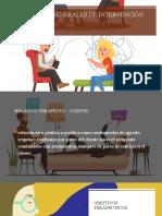 Estrategias generales de intervención terapéutica 1