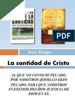 En pos de la Santidad - La santida de Crsito - Leccion # 2