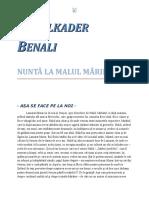 Abdelkader Benali - Nuntă la malul mării 0.9 10 '{Literatură}