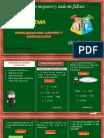 4. PROBLEMAS CON ADICION Y SUSTRACCION.. (1) (1)