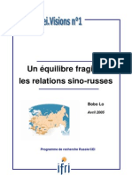 Relations Chine Russie