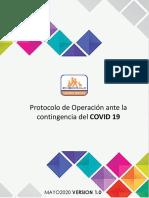 Protocolo _ 20 Mayo 2020 _ VERSION 1.0