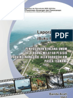 Penyusunan Rencana Tata Ruang Wilayah Pesisir Provinsi NAD