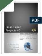 Financiación  Proyecto 4G
