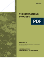 FM 5-0 Operations Process 2010