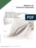 Manual protocolo general formación para el empleo Modulo 3