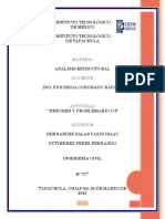 UNIDAD 4. ANALISIS DE CABLES Y ARCOS. ANALISIS ESTRUCTURAL