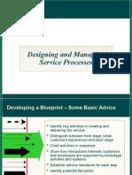 Blueprint for service marketing