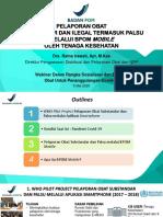 Direktur Pengawasan Distribusi Obat - Webinar 5 Mei 2020