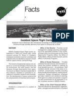 NASA Facts Goddard Space Flight Center