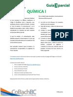 Guía de estudio tercer parcial - Química I