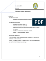 IDENTIFICACIÓN DE UN SERVICIO - FACTORY