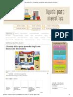 AYUDA PARA MAESTROS_ 15 webs útiles para aprender inglés en Educación Secundaria