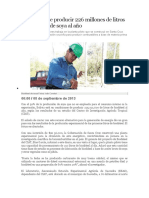 Bolivia puede producir 226 millones de litros de biodiésel de soya al año.docx
