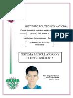 Sistema Musculatorio y Electromiográficas