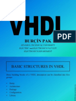 Basic Structures in Vhdl