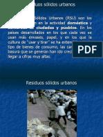 Residuos sólidos urbanos william