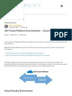 SAP Cloud Platform Environments – Cloud Foundry Vs Neo _ SAP Blogs