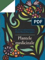 Plante Medicinale, Prof. Dr. Doc. D. Gr. Constantinescu, Farm. Dr. Elena Hațieganu